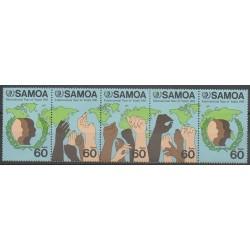 Samoa - 1985 - Nb 588/592 - Childhood