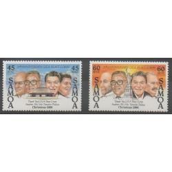 Samoa - 1986 - Nb 621/622 - Christmas