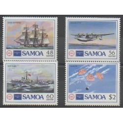 Samoa - 1986 - Nb 612/615 - Philately