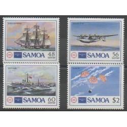 Samoa - 1986 - No 612/615 - Philatélie