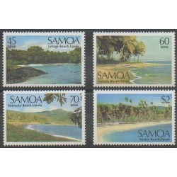 Samoa - 1987 - No 632/635 - Sites