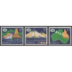 Samoa - 1988 - No 655/657 - Exposition