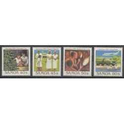Samoa - 1987 - Nb 640/643 - Christmas