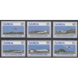 Samoa - 1988 - Nb 649/654 - Planes