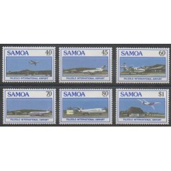 Samoa - 1988 - No 649/654 - Aviation