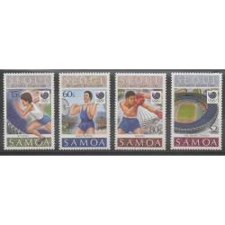 Samoa - 1988 - Nb 668/671 - Summer Olympics