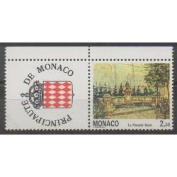 Monaco - Variétés - 1992 - No 1833ab - Peinture