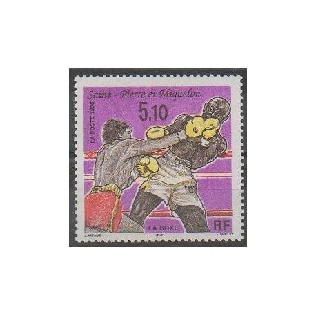 Saint-Pierre et Miquelon - 1996 - No 625 - Sports divers
