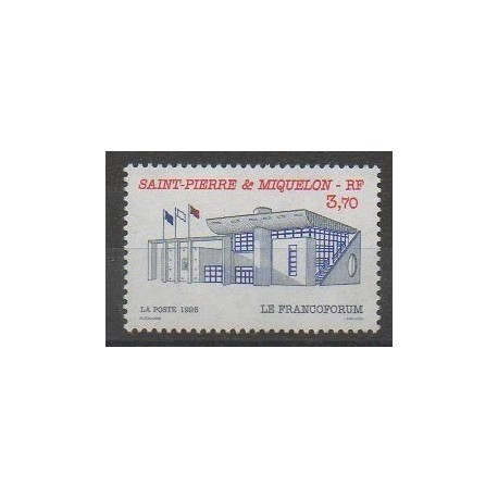 Saint-Pierre et Miquelon - 1995 - No 621 - Architecture