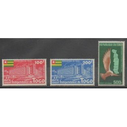 Togo - 1960 - Nb PA34/PA36 - Various Historics Themes