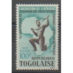Togo - 1964 - Nb PA44 - Various Historics Themes