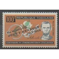 Togo - 1964 - No PA43 - Droits de l'Homme - Célébrités