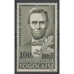 Togo - 1965 - Nb PA47 - Celebrities