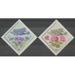 Togo - 1966 - Nb PA55/PA56 - Health