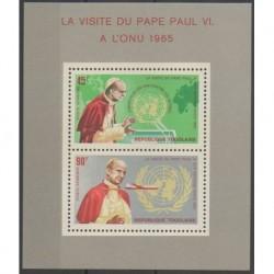 Togo - 1966 - Nb BF20 - Pope