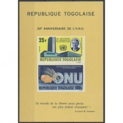 Togo - 1965 - Nb BF19 - United Nations