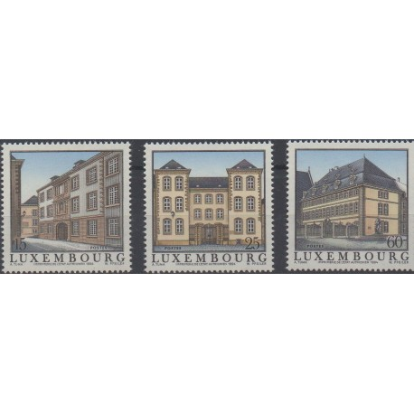 Luxembourg - 1994 - No 1300/1302 - Monuments