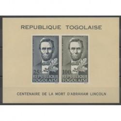 Togo - 1965 - Nb BF16 - Celebrities