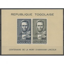 Togo - 1965 - No BF16 - Célébrités