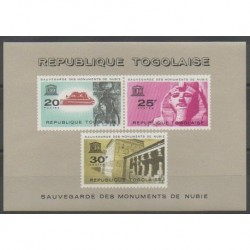 Togo - 1964 - Nb BF11 - Monuments