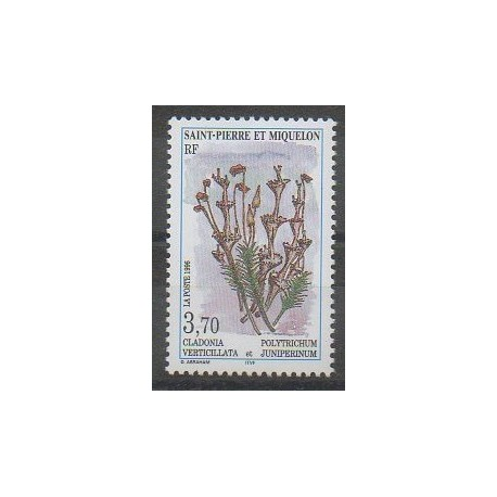 Saint-Pierre et Miquelon - 1996 - No 626 - Fleurs