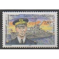 Saint-Pierre et Miquelon - 1996 - No 624 - Histoire militaire