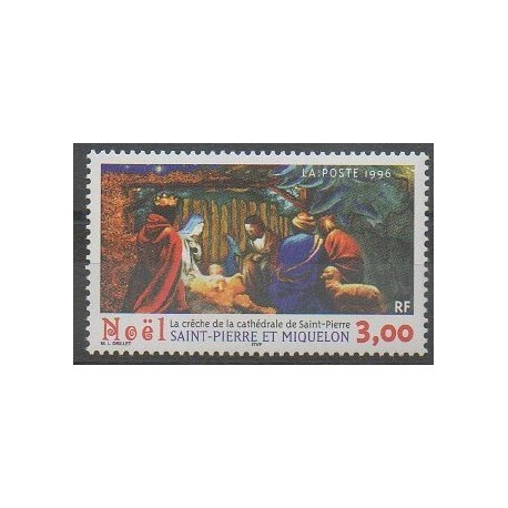 Saint-Pierre et Miquelon - 1996 - No 638 - Noël
