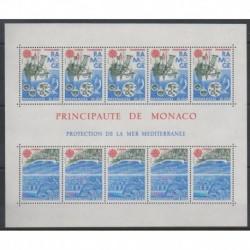 Monaco - Blocs et feuillets - 1986 - No BF34 - Environnement - Europa