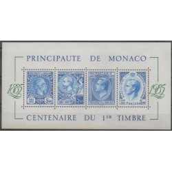 Monaco - Blocs et feuillets - 1985 - No BF33 - Philatélie