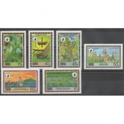 Samoa - 1988 - No 672/677 - Environnement