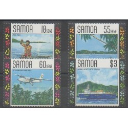 Samoa - 1990 - Nb 708/711 - Tourism
