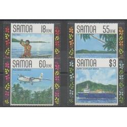 Samoa - 1990 - No 708/711 - Tourisme