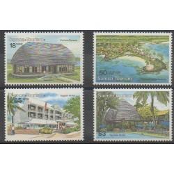 Samoa - 1990 - Nb 715/718 - Tourism