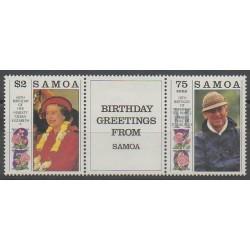 Samoa - 1991 - Nb 728/729 - Royalty