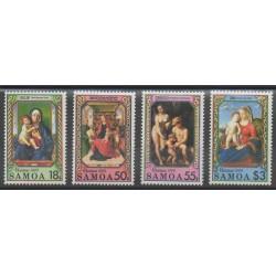 Samoa - 1990 - Nb 719/722 - Paintings