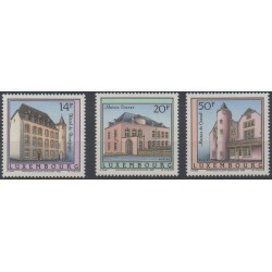 Luxembourg - 1993 - No 1270/1272 - Monuments