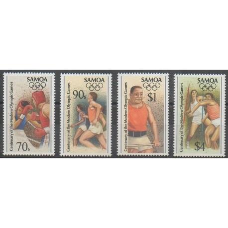 Samoa - 1996 - No 838/841 - Jeux Olympiques d'été