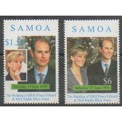 Samoa - 1999 - No 884/885 - Royauté - Principauté