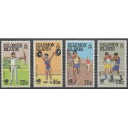 Salomon (Iles) - 1988 - No 658/661 - Jeux Olympiques d'été