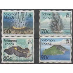 Salomon (Iles) - 1994 - No 827/830 - Sciences et Techniques - Sites
