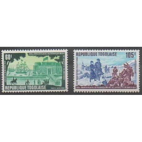 Togo - 1977 - No PA331/PA332 - Histoire militaire