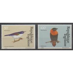 Togo - 1981 - No PA443/PA444 - Oiseaux