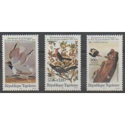Togo - 1985 - No PA558/PA560 - Oiseaux
