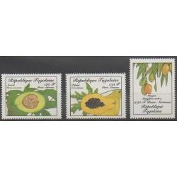 Togo - 1986 - No PA602/PA604 - Fruits ou légumes