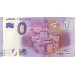Euro banknote memory - Abbatiale de Conques - 2016-1