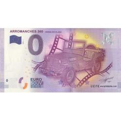 Billet souvenir - Arromanches 360 - cinéma circulaire - 2016
