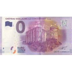 Billet souvenir - Château Guillaume-le-Conquérant - 2016