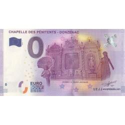 Billet souvenir - Chapelle des Pénitents - 2016-1