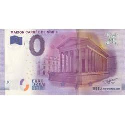 Billet souvenir - Maison carrée de Nîmes - 2016
