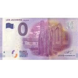 Billet souvenir - Les jacobins - Le Cloître des Jacobins - 2016